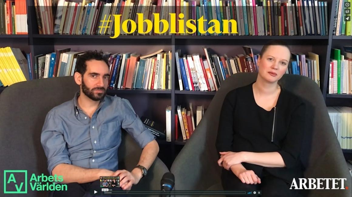 Jobblistan #11: Vem tvättar bankernas byk?