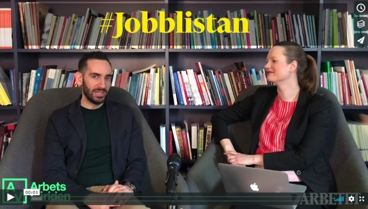 Jobblistan #12: Jobba till 75 med Reinfeldt