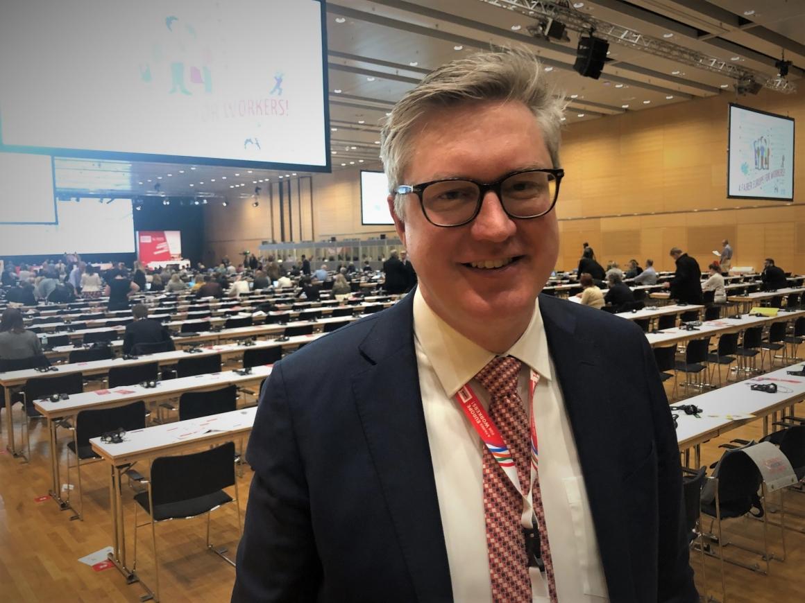 TCO:s Per Hilmersson ny i Europafackets ledning