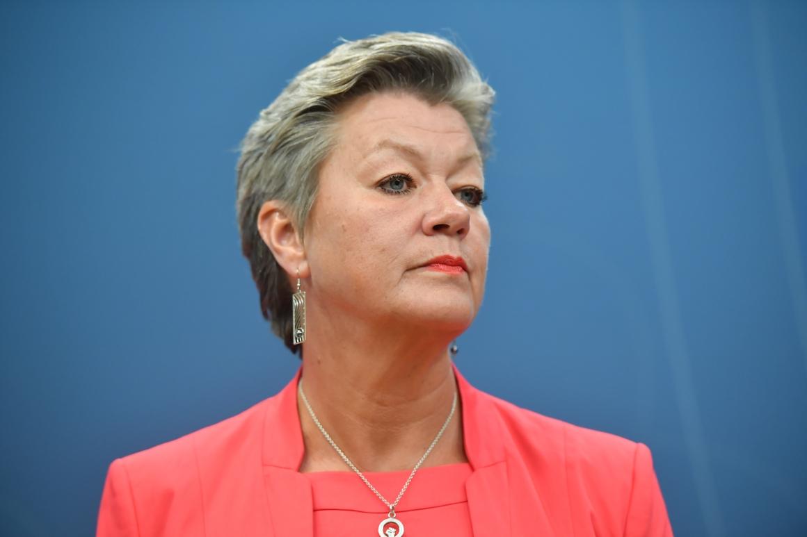 Besked i dag: Ylva Johansson tippas få arbetsmarknadsportfölj