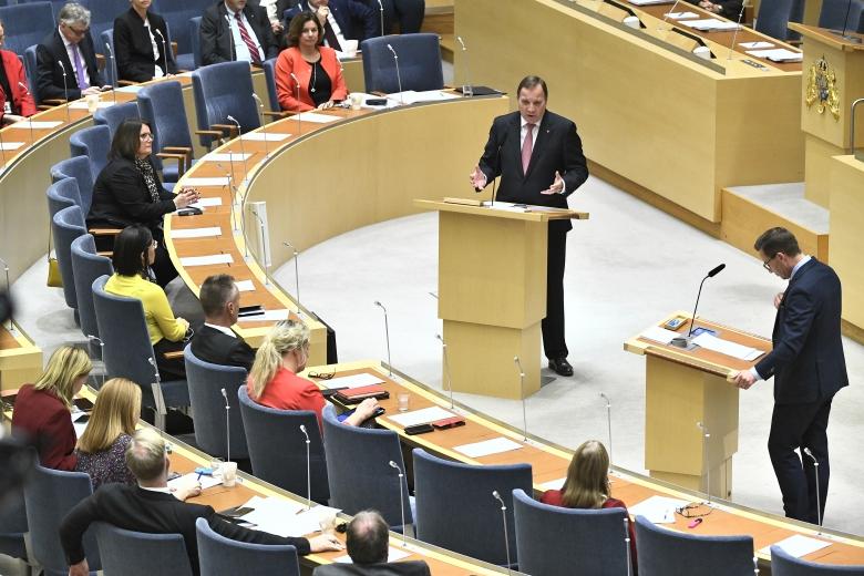 Löfven: Vi ska inte ha direktiv om minimilöner