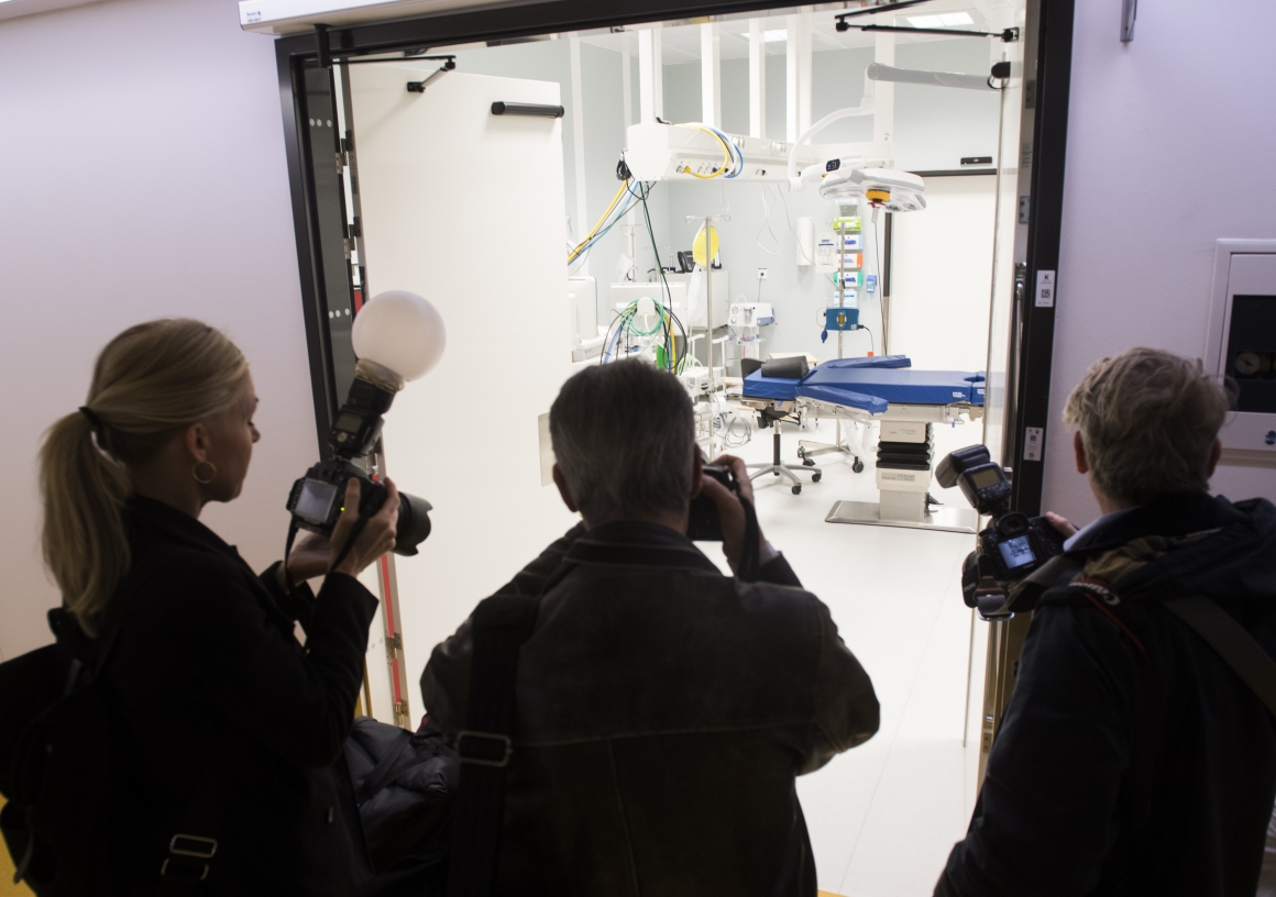 NKS blir världens första konsultcentrerade sjukhus