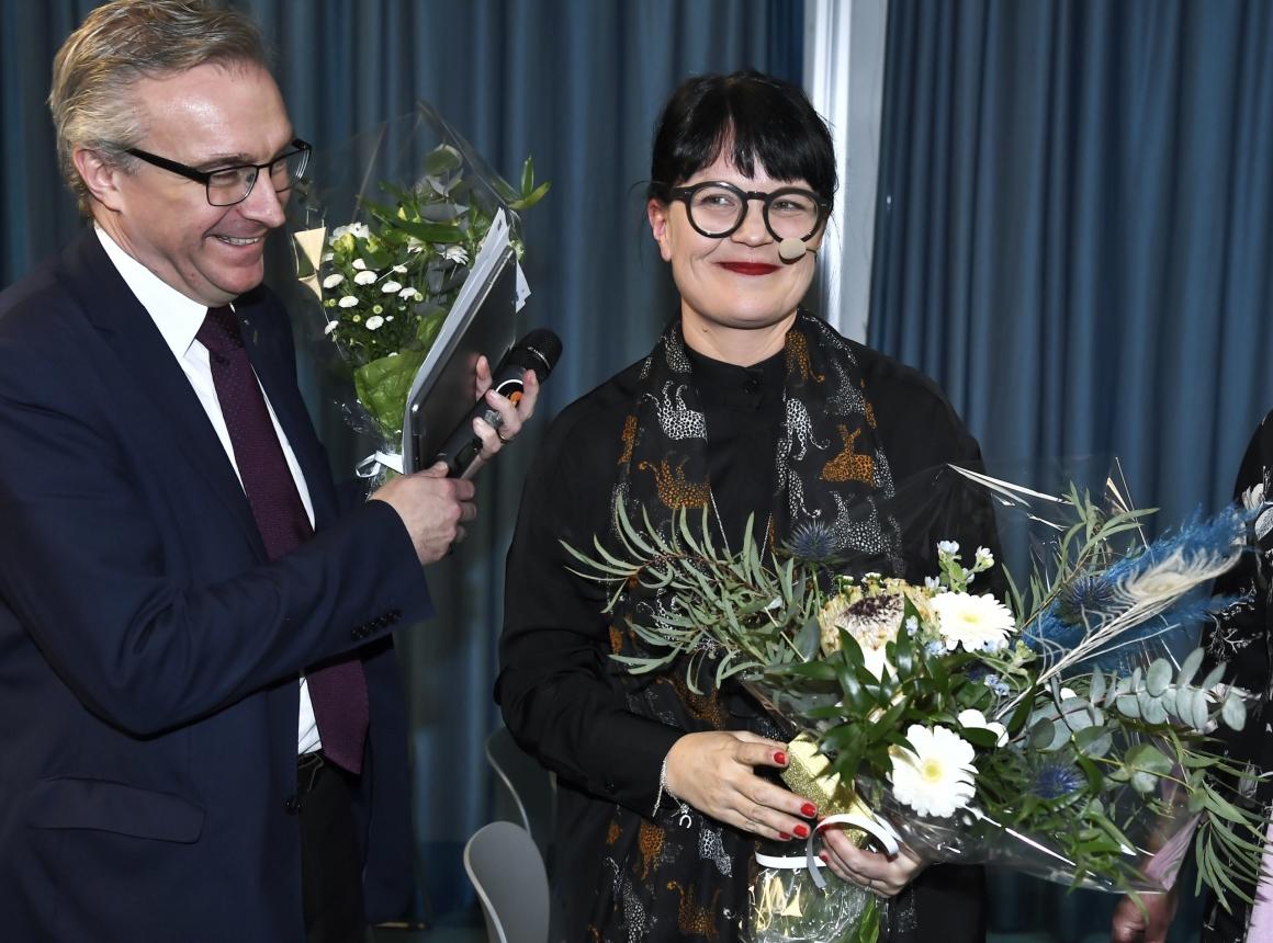 Therese Svanström ny TCO-ordförande: Wow – vad kul!
