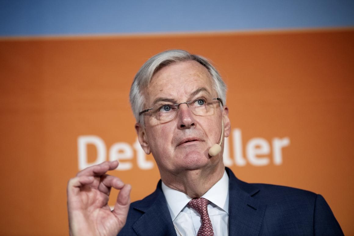 """Michel Barnier: """"EU kommer inte acceptera brittisk dumpning"""""""
