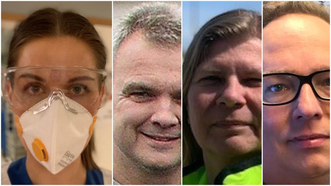 Piratkopierade munskydd och polisförhör via videolänk