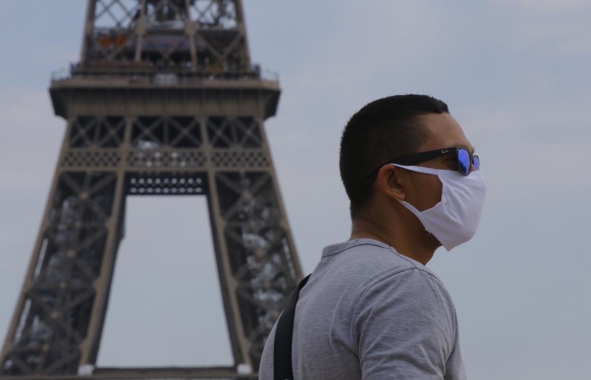 Munskyddstvång införs på franska arbetsplatser