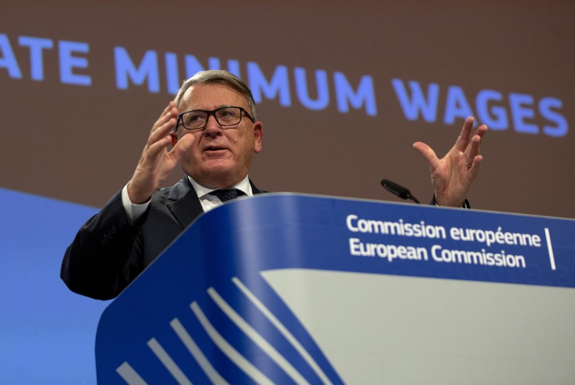 """Parternas jurister: """"From förhoppning att kommissionen drar tillbaka minimilöner"""""""