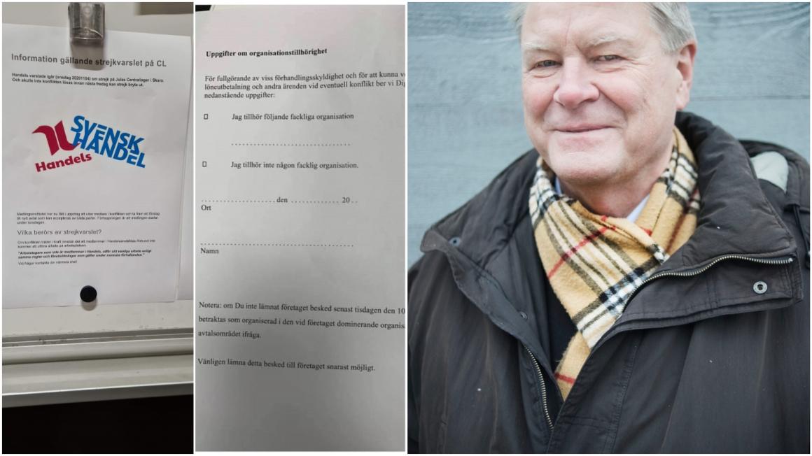 Anders Kjellberg: Uppseendeväckande agerande under strejkvarslet