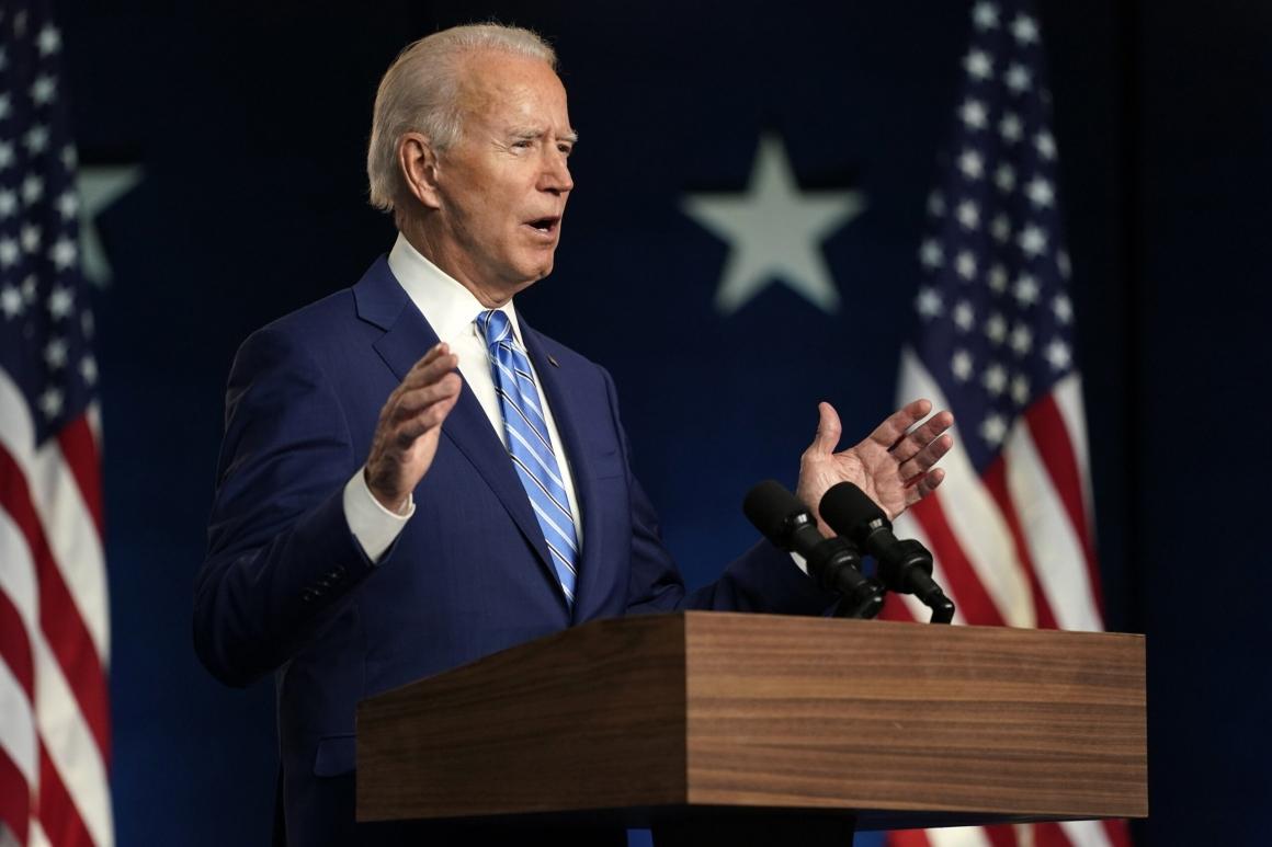 """Facken hoppfulla när """"Union Joe"""" tillträder som president"""
