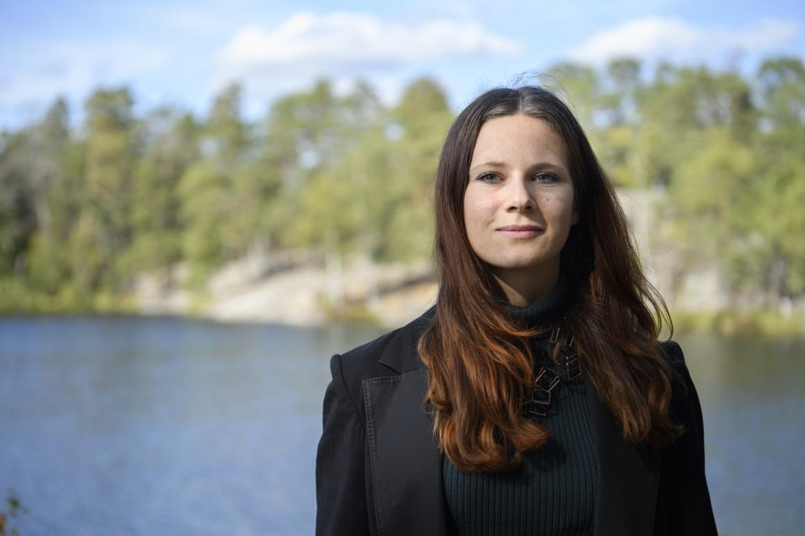 Hon kämpar för basinkomst i Sverige