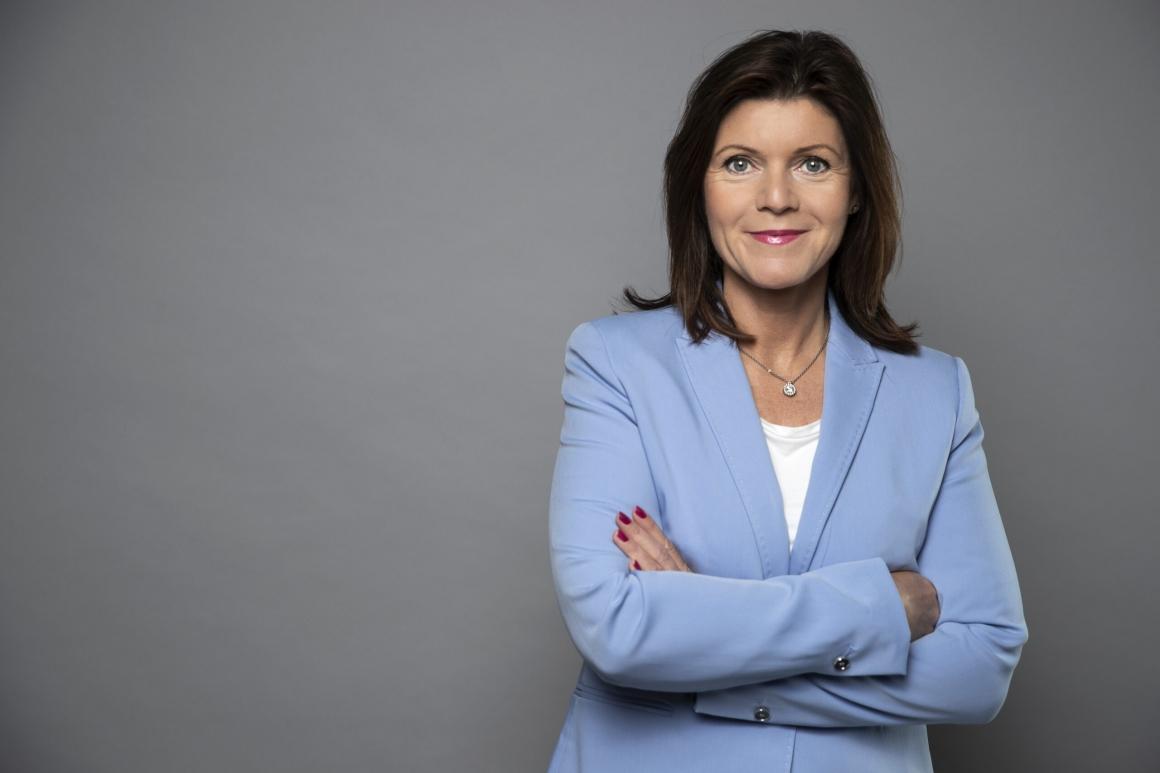 Eva Nordmark ser positivt på att ta hjälp av företagshälsan