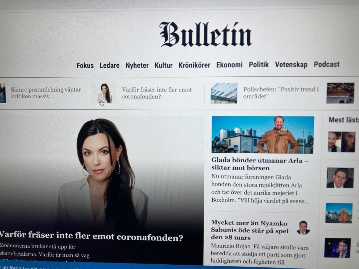 Varför ville Bulletins ägare styra innehållet?