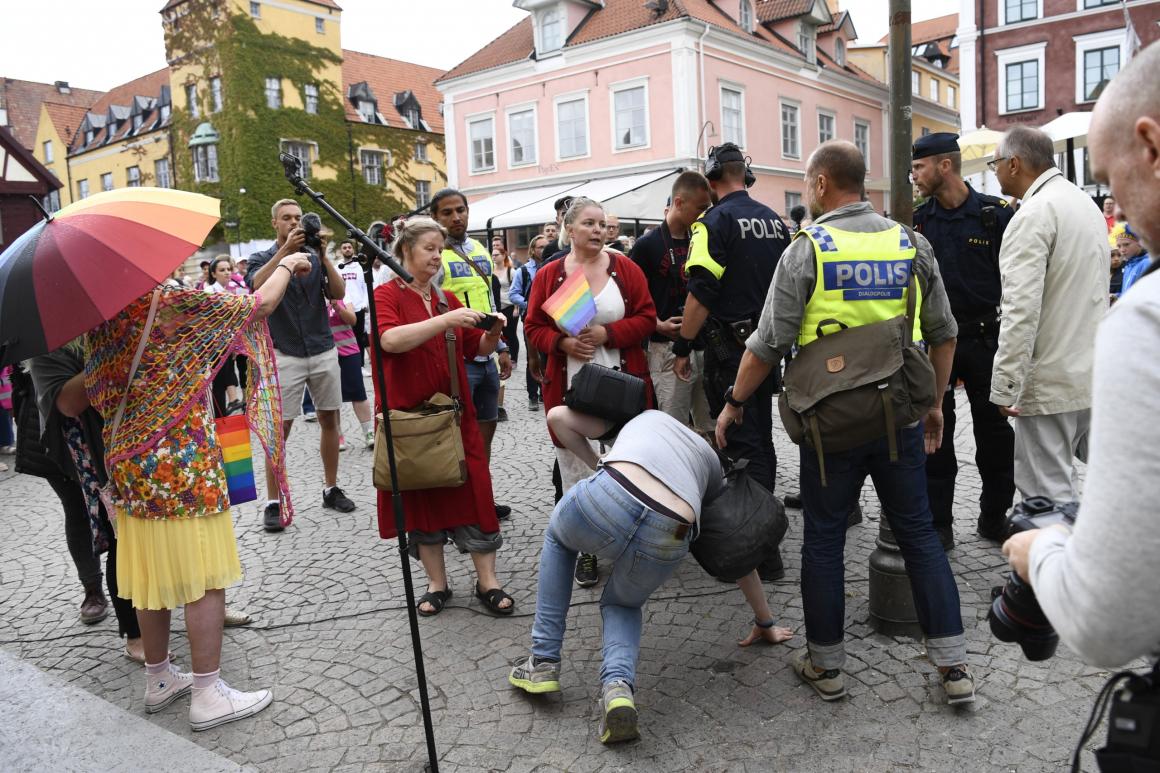 Zombieinvasion på Gotland
